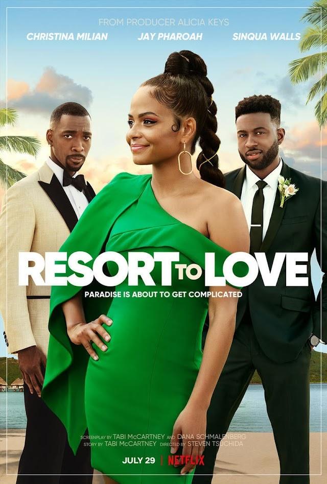 Resort to Love 2021 x264 1080p WebHD Esub 5.1 English Hindi THE GOPI SAHI