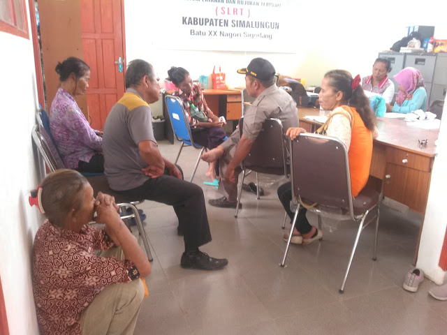 Bantuan Tidak Tepat sasaran, Lansia Datangi Dinas Sosial Simalungun