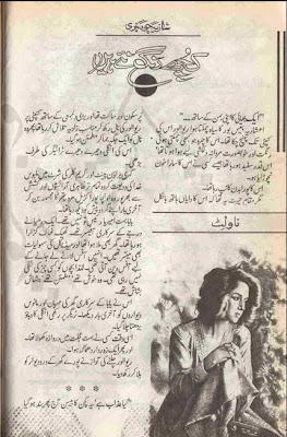 Kuch rang naye hain novel by Shazia Chaudhary