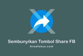 Cara menyembunyikan share di Facebook