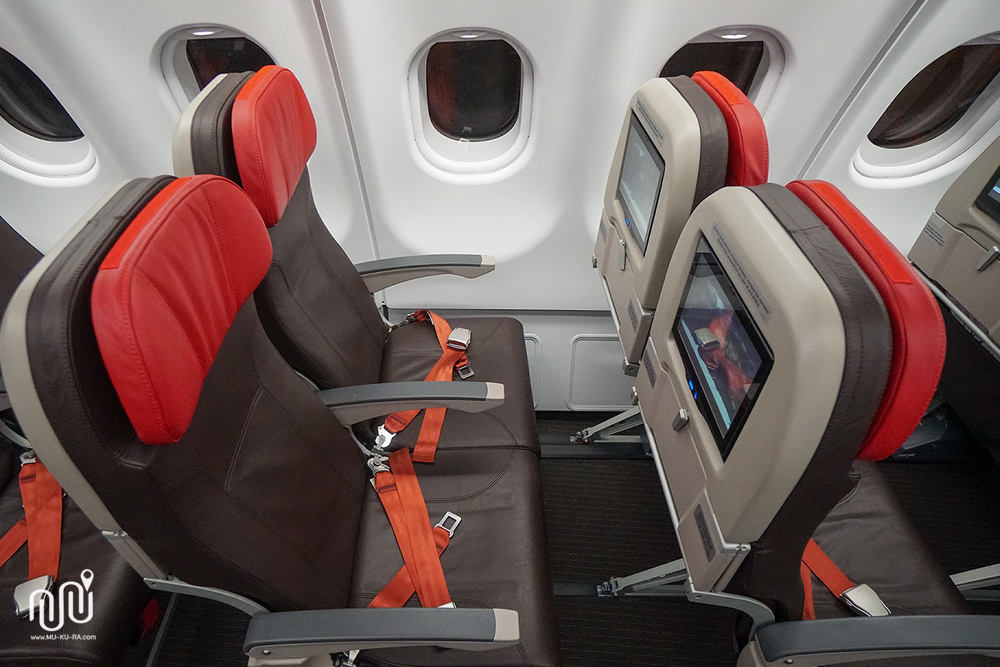 รีวิวเครื่องบินลำใหม่ Airbus A330-300 ของ Thai Lion Air มีจอส่วนตัวทุกที่นั่ง