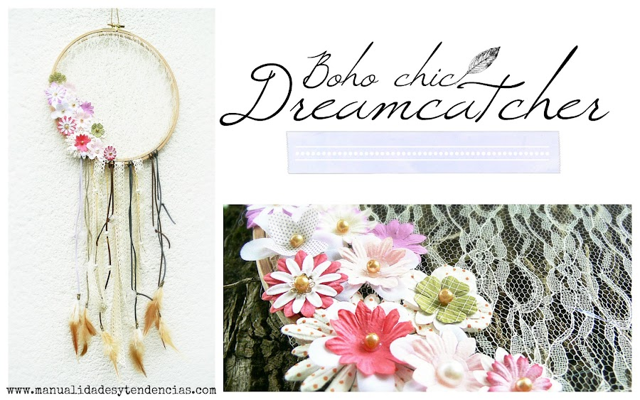 Boho chic dreamcatcher tutorial