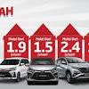 Promo Beli Toyota, Bayar Setengah Cicilan!
