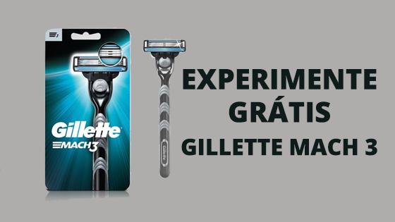Experimente Grátis: Gillette Mach 3