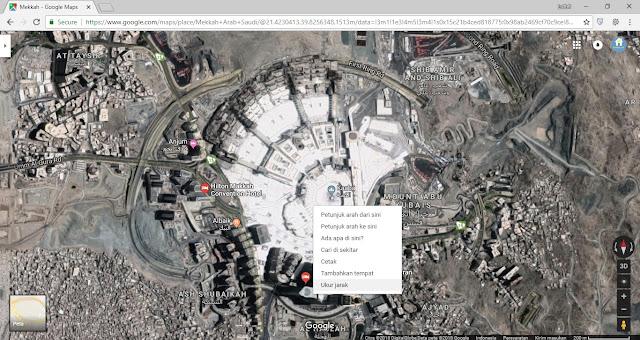 Pengukuran Lahan dengan Google Maps