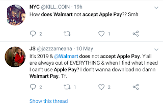 Does wallmart accept apple pay