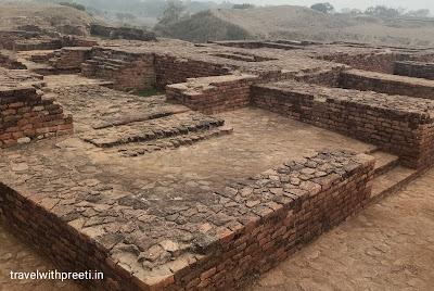 घोषिताराम विहार स्थल कौशांबी - Ghositaram Vihar sthal Kaushambi