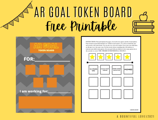AR Goal Token Board