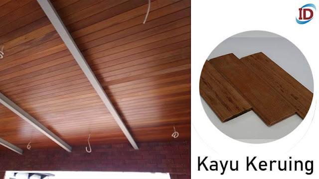 Jenis kayu terbaik untuk lantai 5 Keruing