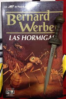 Portada del libro Las hormigas, de Bernard Werber