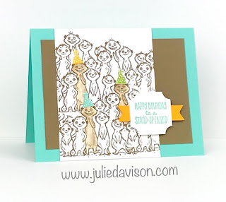 5 The Gang's All Meer Stampin' Up! Sale-a-Bration Projects + Videos ~ www.juliedavison.com