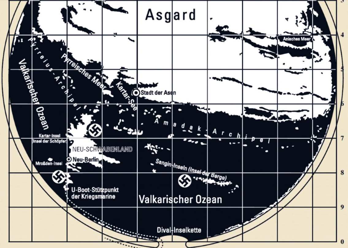 The Hollow Earth Third Reich Maps of the Inner Earth