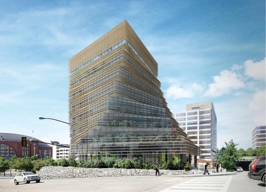 Japanese architect kengo kuma designs rolex office for Architecture tokyo