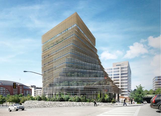 Japanese Architect Kengo Kuma's design for Rolex's Dallas Sales & Service Center (design: Kengo Kuma)