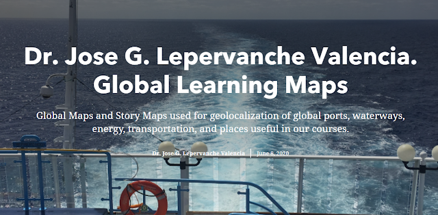 Global Learning Maps and Story Maps.