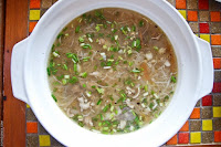 la cucina, lunch, misua soup, Mountain Lake Restort, Caliraya Springs, Laguna