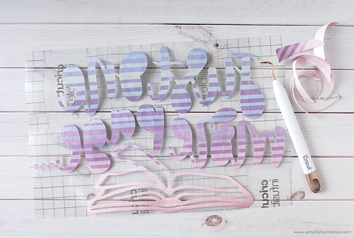 Weeding Cricut Infusible Ink Transfer Sheet