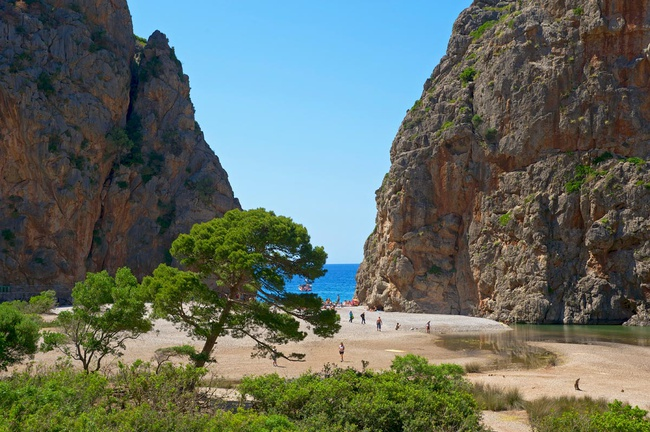 "Otra Playa ""Secreta"" ♦ Playa de Sa Calobra (Mallorca, Islas Baleares) 1"
