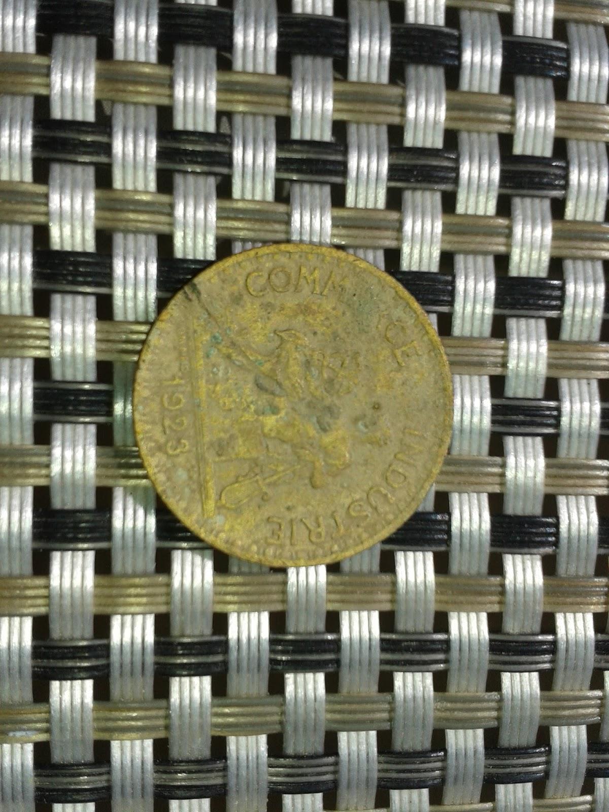 Effodio d tection for Chambre de commerce de france bon pour 2 francs 1923