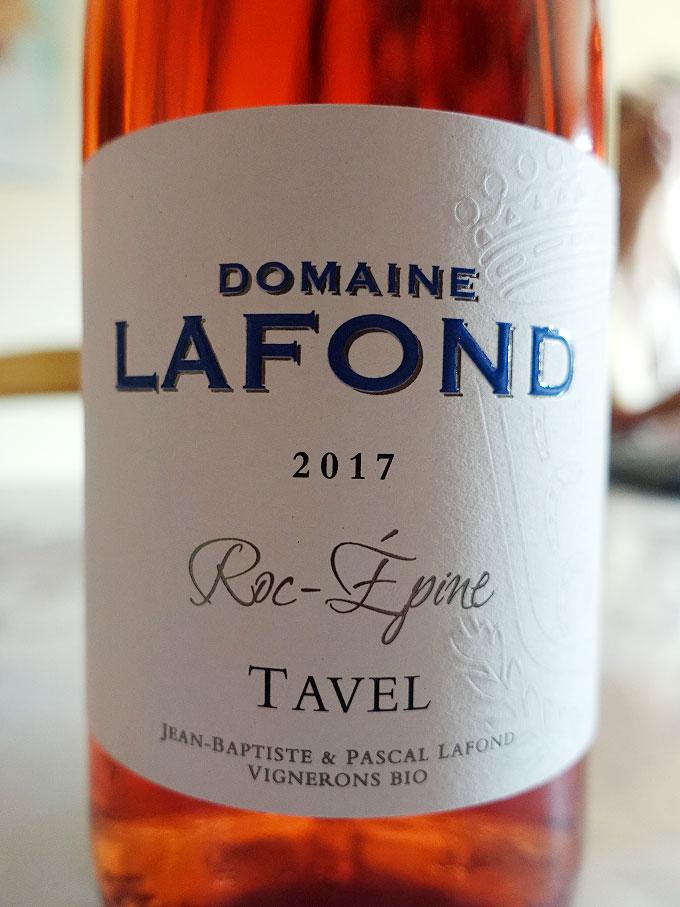 Domaine Lafond Roc-Épine Tavel 2017 (88 pts)