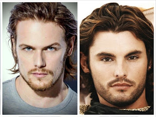 Two guys having a curl cut or wavy cut hairstyle.