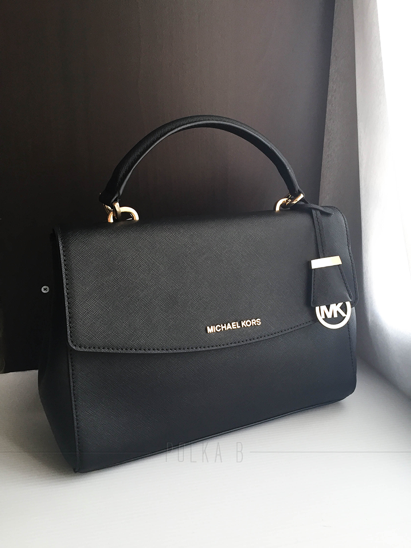 Michael Kors Ava Medium Saffiano Leather Sachel