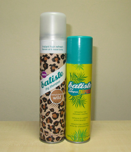 Batiste Dry Shampoo Review: Blush, Tropical, Wild | The