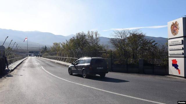 Armenia y Georgia cierran fronteras