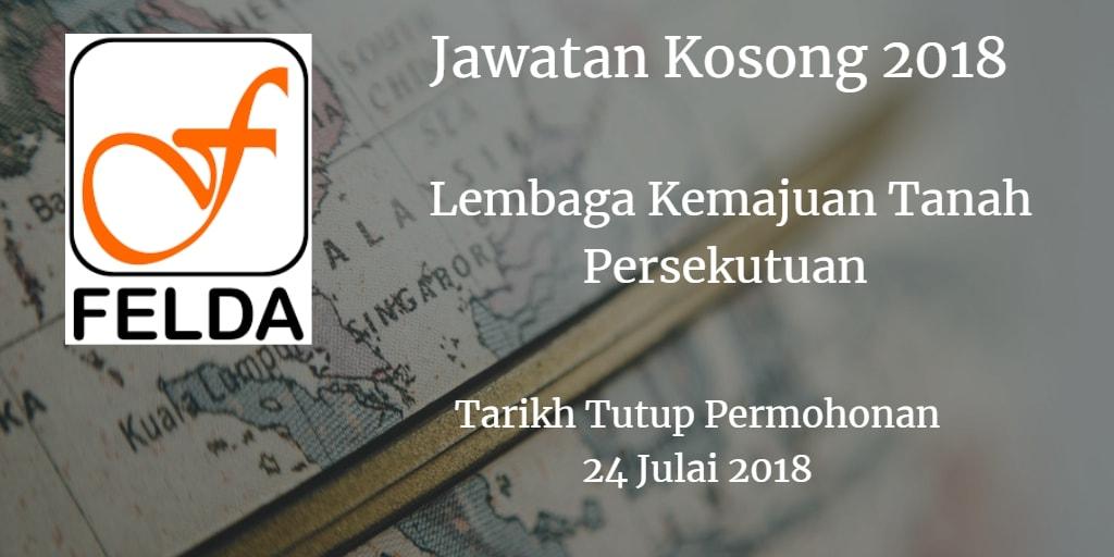 Jawatan Kosong FELDA 24 Julai 2018