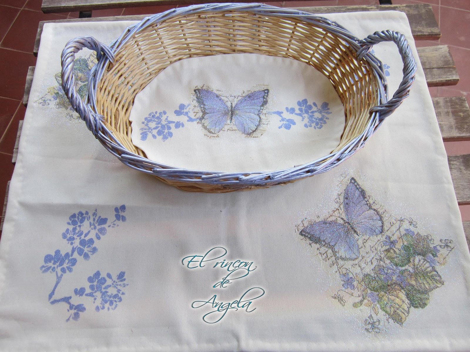 El rincon de angela como hacer decoupage y pintura sobre - El rincon azul de angela ...