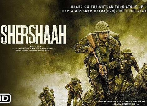 Download Shershaah (2021) Hindi 720p + 1080p WEB-DL MSubs