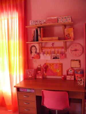 Διακόσμηση παιδικού δωματίου για κορίτσια.