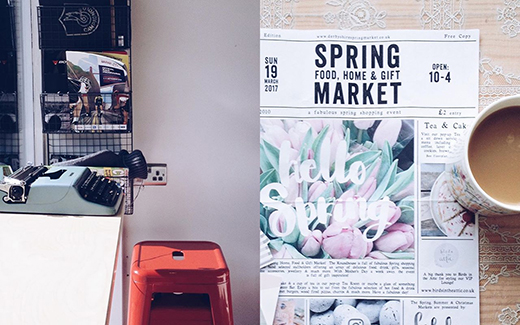 Coffee at Gorilla Cafe & the Fabulous Spring Market at the Roundhouse