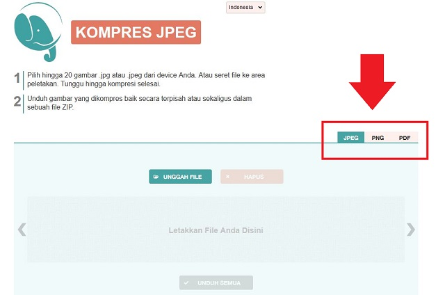 Cara Mengecilkan Ukuran File JPG, PNG dan PDF (8)