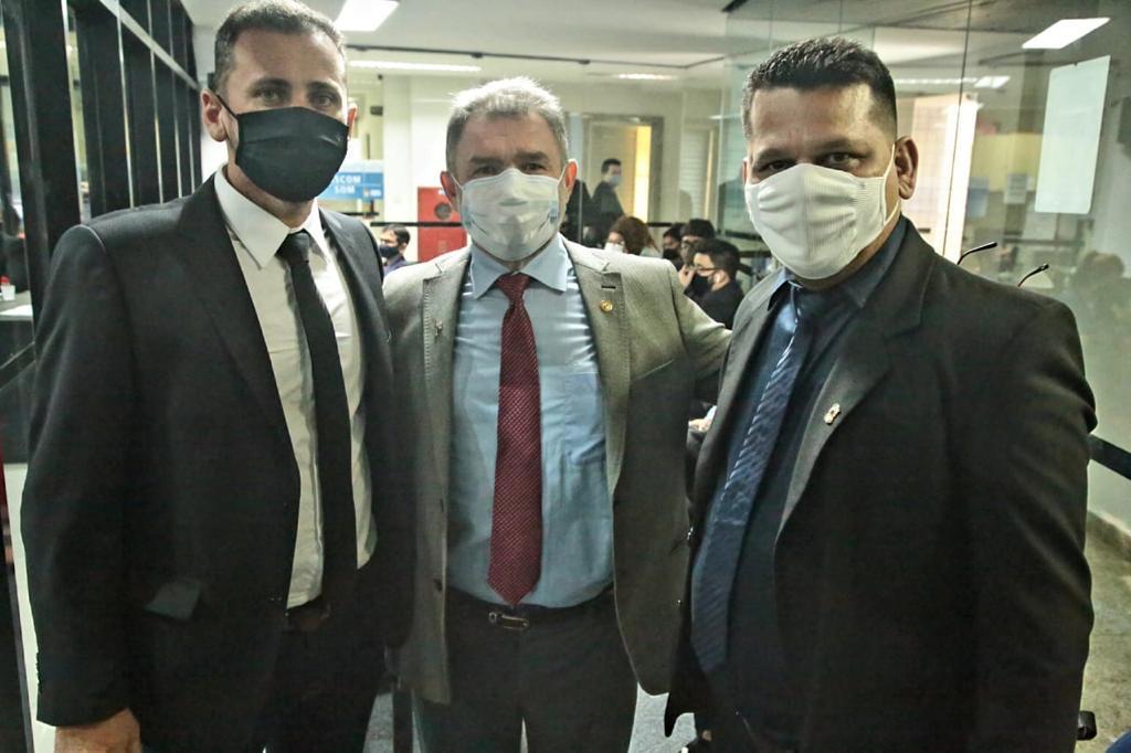 Vereador reúne com deputados na Alepa em busca de emendas para Santarém