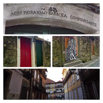 fachadas na região da Vitória no Porto