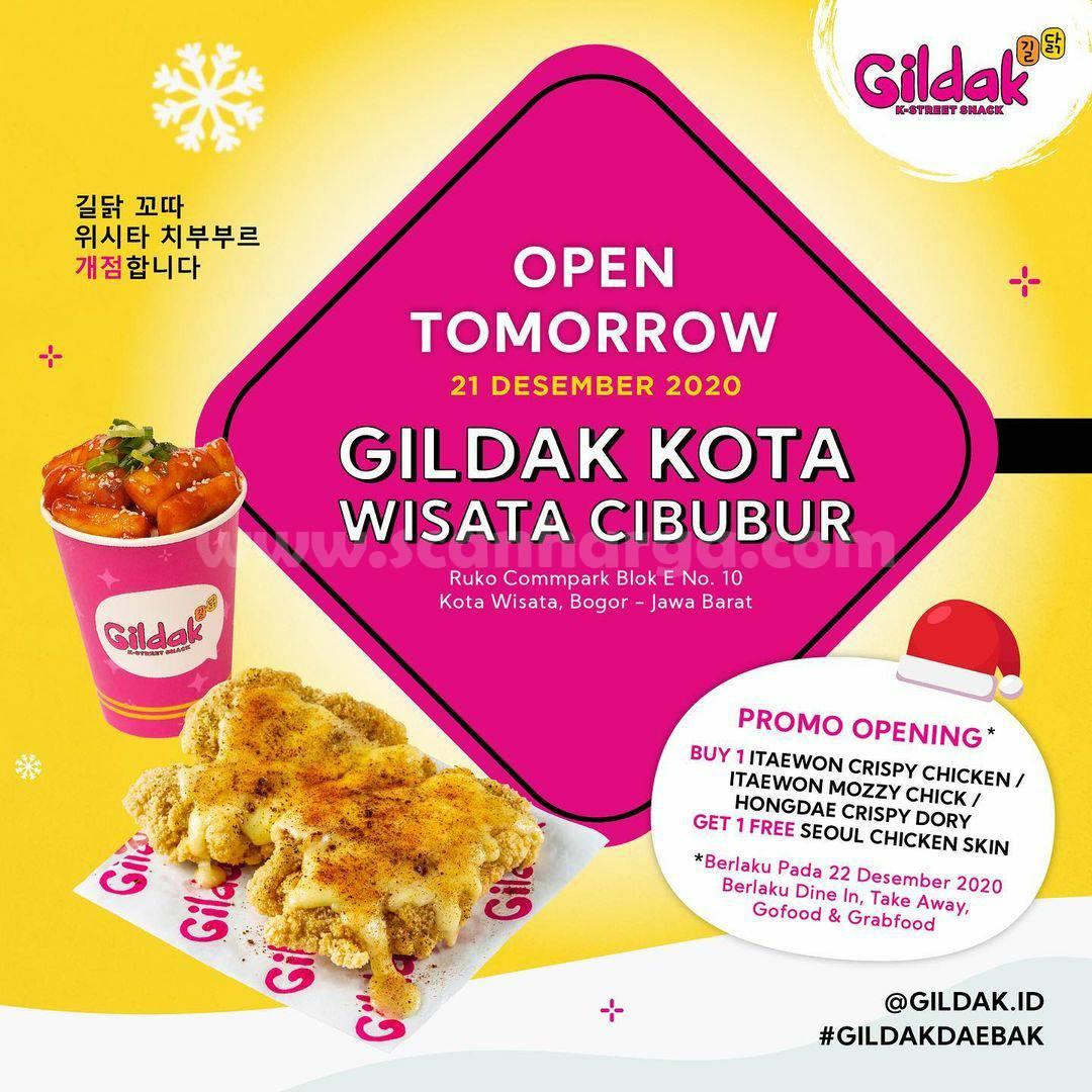 GILDAK KOTA WISATA CIBUBUR Opening Promo Beli 1 Gratis 1