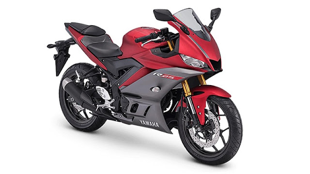 Warna-Yamaha-R25-2019-Facelift-Matte-Red