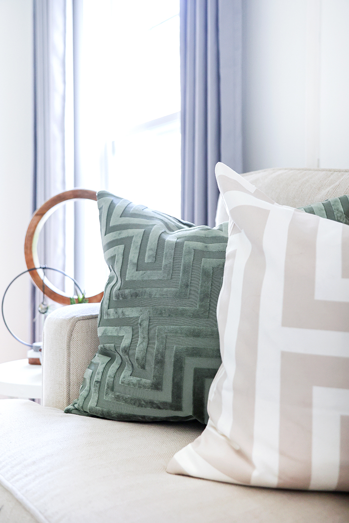 cute pillow cases with geometric designs