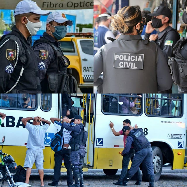 Número de assaltos a ônibus tem redução de 79,5% no RN