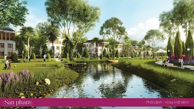 Kênh sinh thái dự án Lakeside