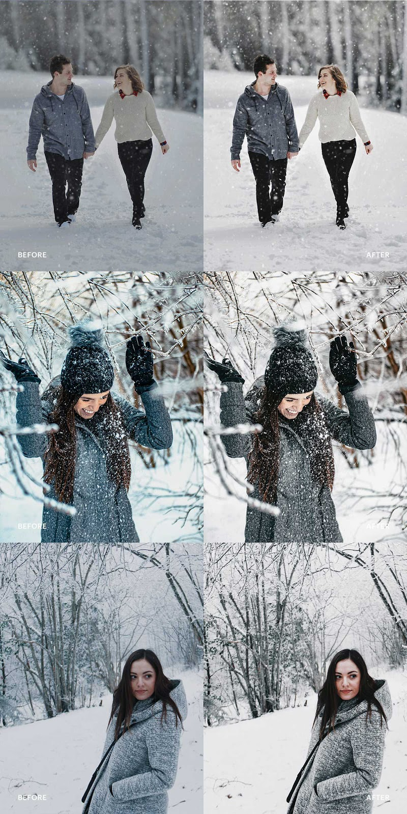 Lightroom Preset Snow Winter 4976169 Free