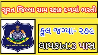 Gram Rakshak Dal (GRD) Posts Recruitment