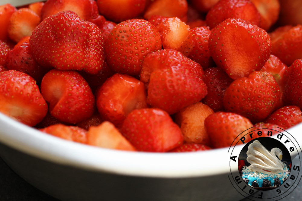 Confiture de fraises à l'ancienne (pas à pas en photos)