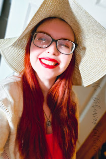 bohemian catholic redhead glasses hat intro introduction
