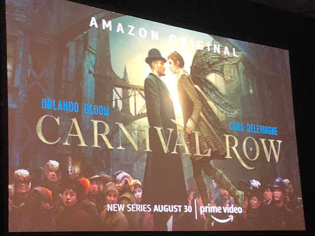 CARNIVAL ROW -  Something inhuman approaches  La serie fantasy si presenta