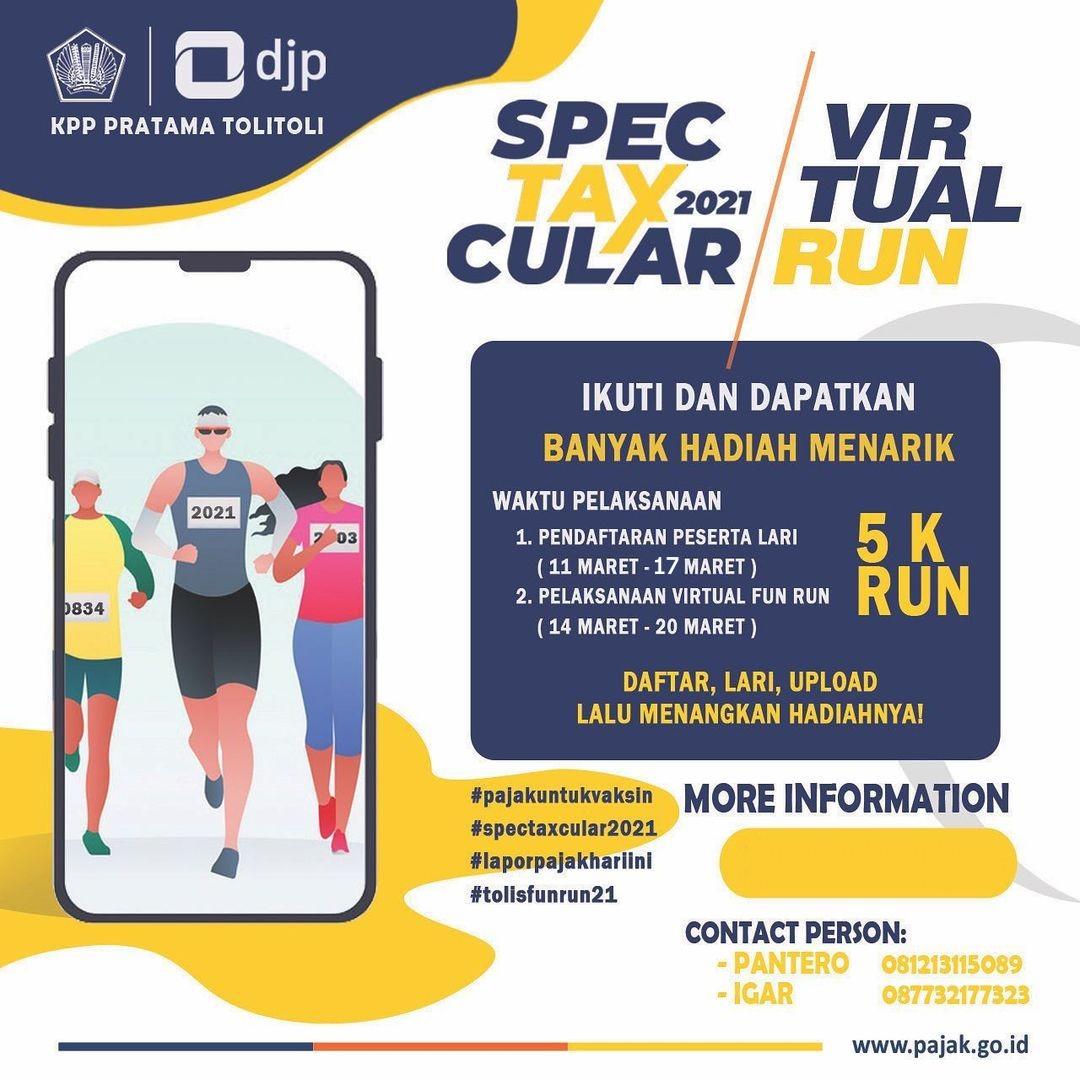 KPP Pratama Tolitoli - Spectaxcular Run • 2021