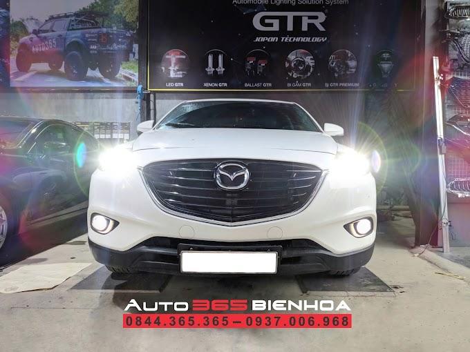 ĐẸP DỊU DÀNG - THÊM CHÚT CHÓI LÓA CHO XẾ CƯNG - Nâng tầm độ đèn Mazda CX9