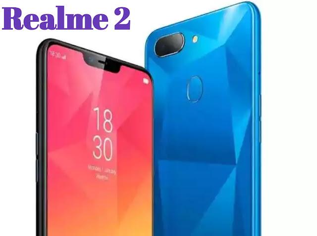 Realme 2 mobile phone price in India