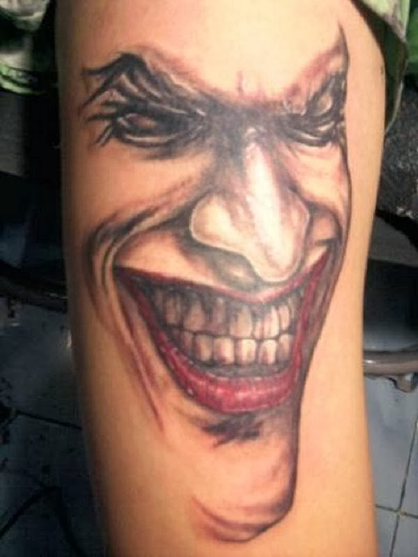 Joker Hand Tattoos: Body Tattoo Design